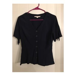 LOFT size 2 button down blouse